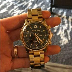 Michael Kors (Sized) Gold Watch